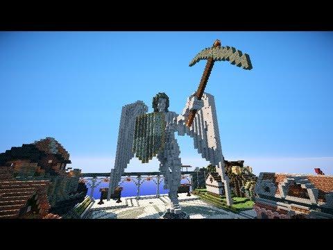 阿神的minecraft到你家『MTW-奧蘿菈Aurora!』中央魔法樹&吉普賽區