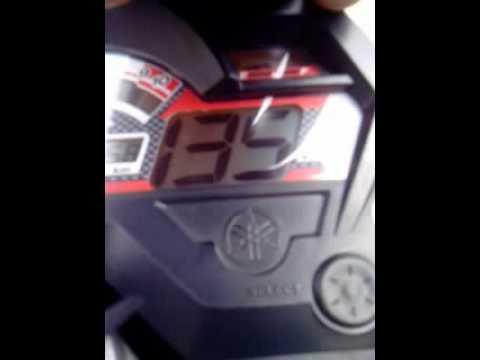 Yamaha Fz16 a 139 Km/h