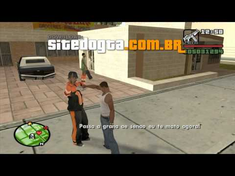 Mod de assalto para GTA San Andreas (Cleo 3)