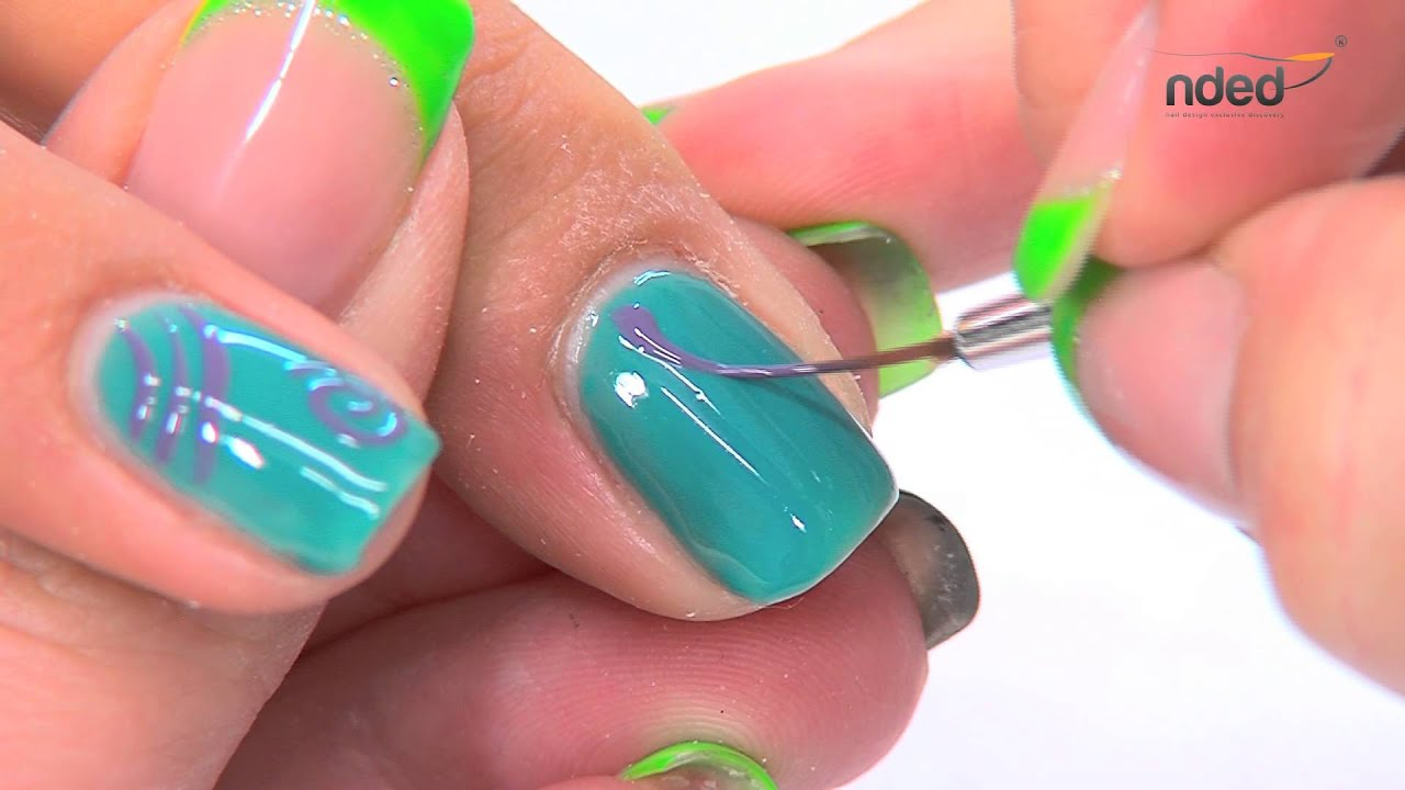 Gel nails art ideas