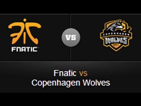 Fnatic vs. Copenhagen Wolves at EU LCS week 10 - League of Legends
