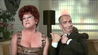 Louis de Funès - Le tatoué (1968) - Darling!!!