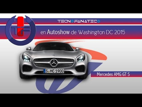 Mercedes AMG GT S Auto Show Washington DC