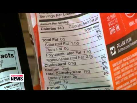 U.S. FDA tells manufacturers to eliminate trans fat within 3 years   미국 FDA, 가공