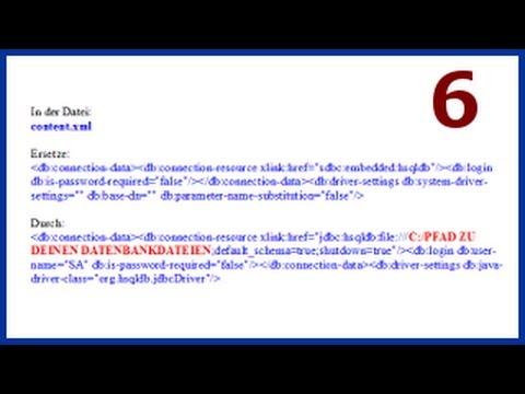 06 OpenOffice Base: Eine HSQL Datenbank mit Frontend und Backend erstellen