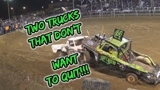TWO trucks that DON'T want to QUIT!!