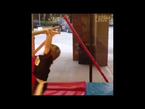 Gymnastics accident