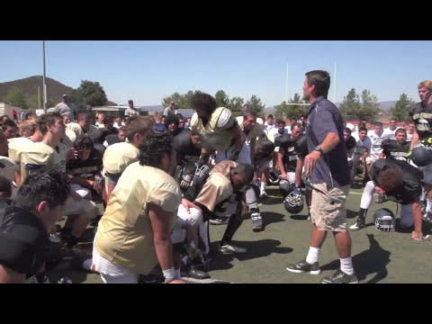 Vista Murrieta Football (CA)  -  Dog Days of Summer : 'Sights and Sound sof Hell Week' 2013