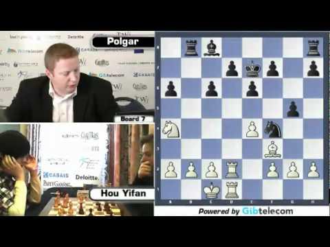 Hou Yifan Vs. Judit Polgar (Gibraltar Chess Festival - Round 7)