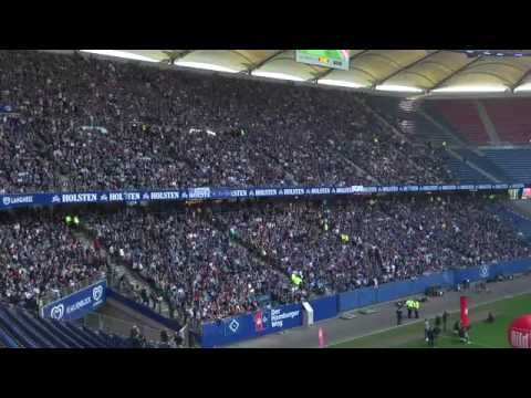 Relegationsspiel / Relegation match:  KSC vs HSV - Public Viewing Hamburg 01.06.15