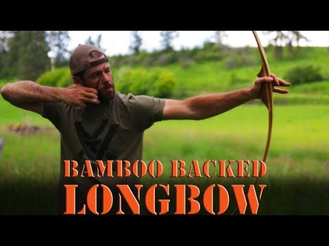 How to build a Bamboo backed Osage reflex deflex long bow