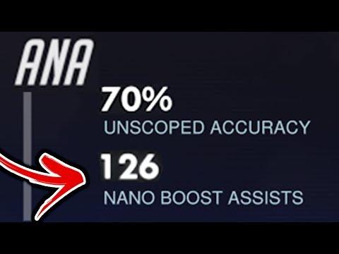 Overwatch - Craziest Ana Boosts