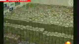 **205 million CASH! Drug dealer caught by Mexican Police