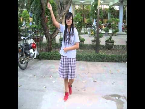 Đoàn Trường THPT Trần Phú - Hướng dẫn dân vũ bài con cào cào