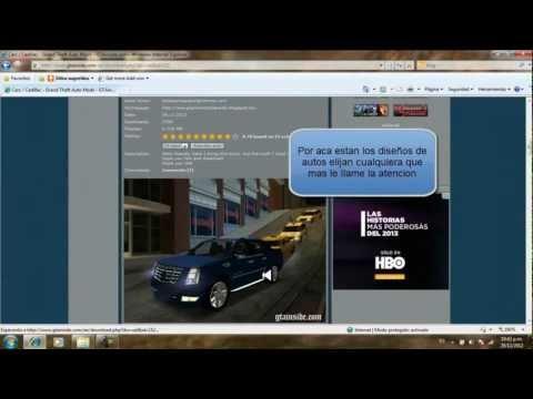 Descargar e instalar skins de autos para Gta san andreas [Mejor explicado]