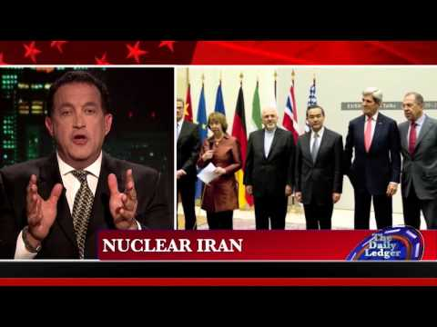 Barry Nussbaum on OAN's Daily Ledger on violence in Israel and Iran nuclear deal