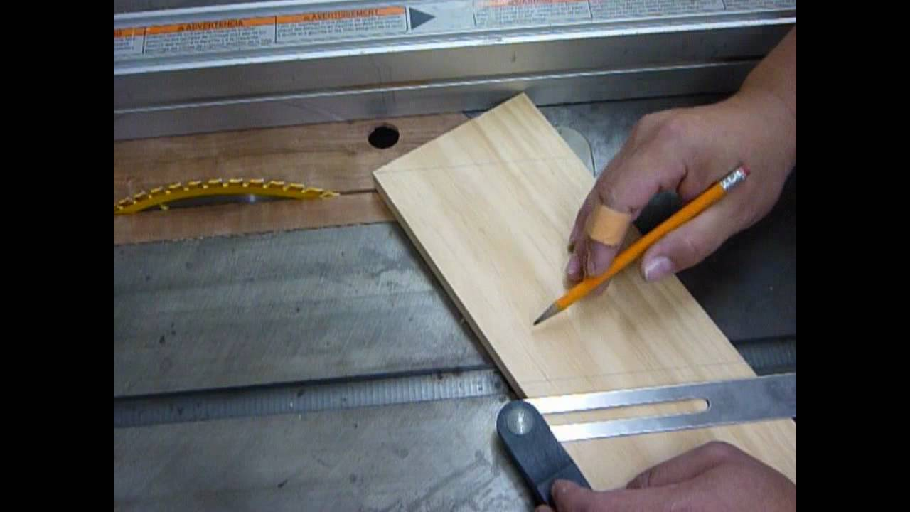 Making A Universal Featherboard Pt1