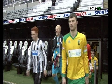 Blyth Spartans 0-4 Newcastle United U21s- Northumberland Senior Cup Final 22/04/14