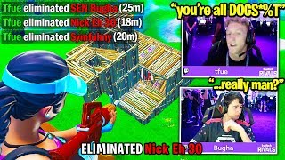 TFUE *TOXIC* at BUGHA NICK EH 30 & SYMFUHNY at TRIO TOURNAMENT! GHOST AYDAN 1v1 MRSAVAGE! Fortnite