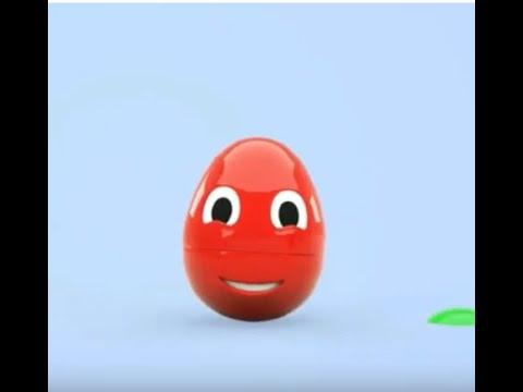 Учим цвета на английском с яичком Эгги./Learn colors in English with Eggie's testicle.