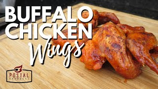 Best Buffalo Wings Recipe - How to make Buffalo Chicken Wings on the Grill Easy