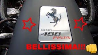 Ferrari 488 Pista Walkaround & Startup