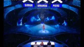 CHLOE HICKINBOTTOM (10) SHINES OUT ON BRITAIN'S GOT TALENT SEMI FINAL SINGING MOON RIVER