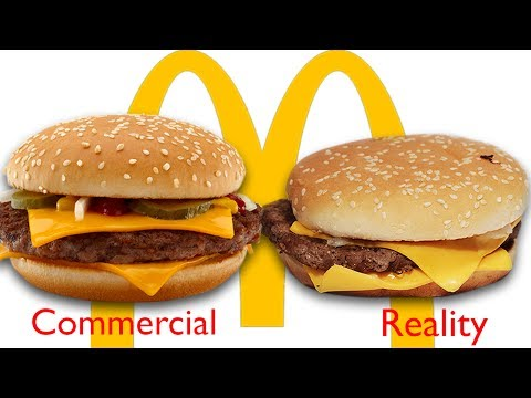 McLying: McDonald's Ads vs. The Real Thing