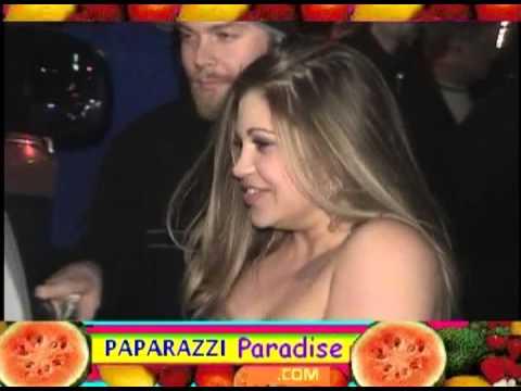 DANIELLE FISHEL leaves nightclub in Hollywood