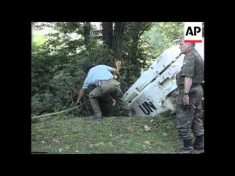 Bosnia - Mladic And UN Dutch Forces Commander
