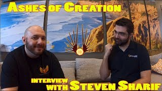 Ashes of Creation Interview w/ Steven Sharif (Lore Drops & Tulnar Leaks)