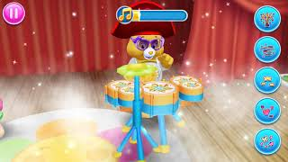 care Bears Music Band‏, Play Musical With Colorful Bears - Baby Fun Game part-2s