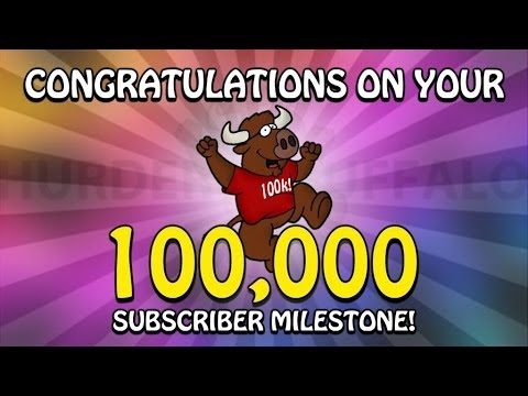 Thank You For 100,000 Subscribers