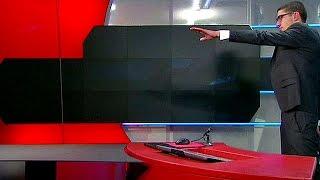 بالفيديو: القبض على رجل اقتحم قناة تلفزيونية هولندية