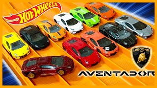 10 x Lamborghini Aventador Variations + Super Treasure Hunt RACE & REVIEW