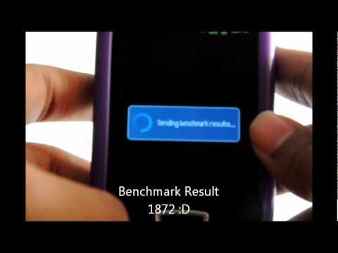 Samsung Galaxy Mini Emanon v4 Overclocked 768mhz