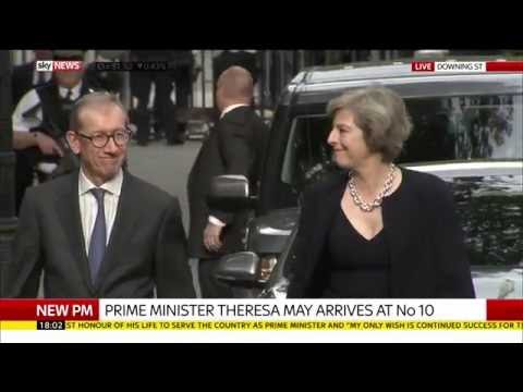 Theresa May Makes First Speech As Prime Minister