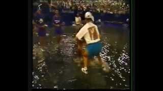 Gigi Fernandez - Natasha Zvereva Australian Open'95 - Awards Ceremony then Flood, Dance and Catfight