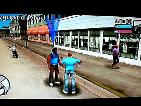 Grand Theft Auto Vice City Stories (GTA VCS. PSP - Cheatdevice) - Bodyguard Mod