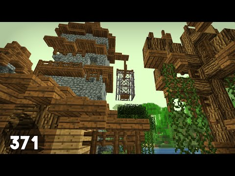 Minecraft Building w/ BdoubleO :: Human Size Cage! :: ep 371