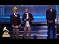 Twenty One Pilots Wins Best Pop Duo  Group Performance  Acceptance Speech  59th GRAMMYs -