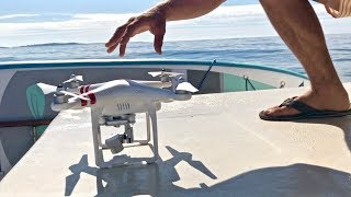 How to Launch and Land a Drone FROM A BOAT