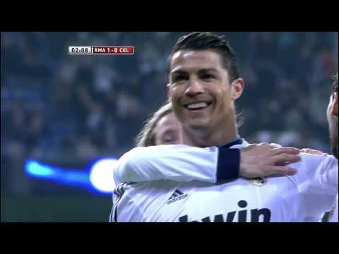 Golazo de Ronaldo (1-0) en el Real Madrid - Celta de Vigo - HD