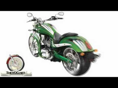 2009 Victory Vegas Jackpot Motorcycle