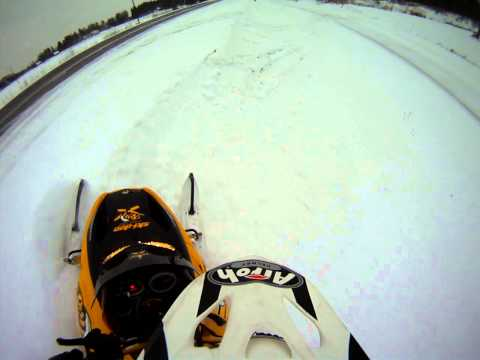 Ski Doo REV First ride. Testing cudney clutch kit!