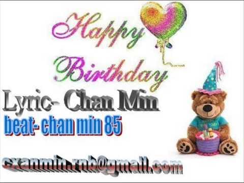 Myanmar Love Song Happy Birthday video