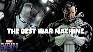 BEST WAR MACHINE UNIFORM | Marvel Future Fight