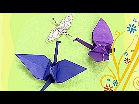 how to make a paper rane