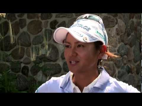Ai Miyazato: (Japanese) 2012 U.S. Women's Open Rd. 1