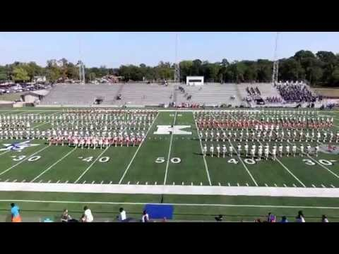 Kilgore College Rangerettes host East Texas HS Drill Teams - 10-18-14